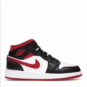 "🥊*NEW* Air Jordan 1 Mid ""Gym Red"" (GS)"